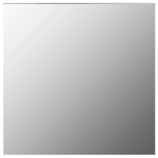 shumee Stensko ogledalo 40x40 cm kvadratno steklo