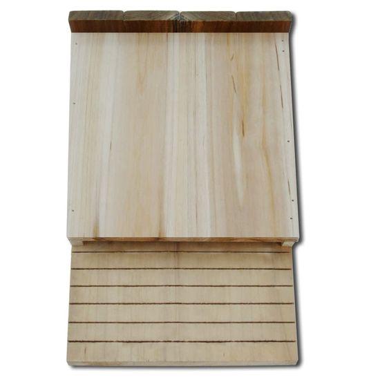 shumee Domki dla nietoperzy, 4 szt., 22 x 12 x 34 cm, drewniane