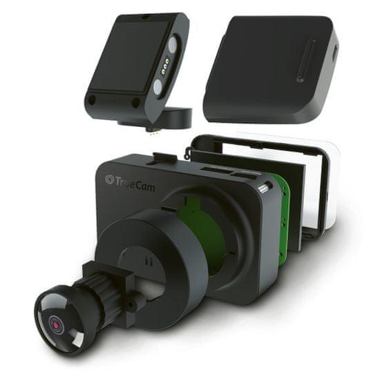 TrueCam M7 GPS Dual avtomobilska kamera (z radarskim poročilom)