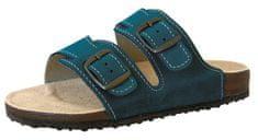 Protetika dámské pantofle T16 37 tyrkysová - zánovní