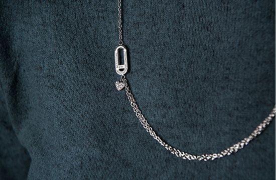 Liu Jo Luxus acél nyaklánc LJ1399