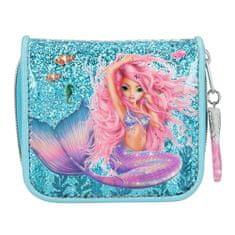 Fantasy Model Fantazijska denarnica, Morska deklica, turkizna z bleščicami