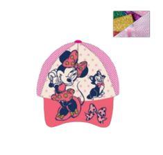 """SETINO Lány baseball sapka """"Minnie egér"""" - sötét rózsaszín - 54 cm"""