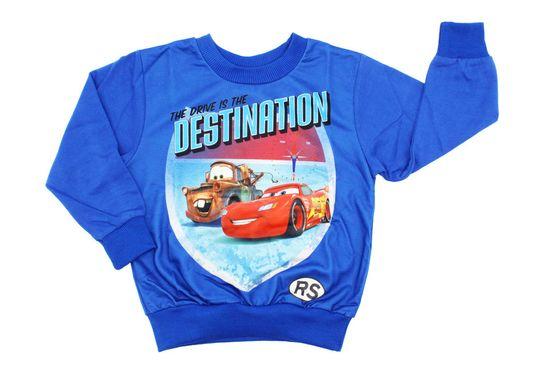 "SETINO Fantje majica ""Cars"" - modre"