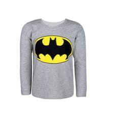 """SETINO Fantovska majica z dolgimi rokavi """"Batman"""" - siva - 134–140 / 9–10 let"""
