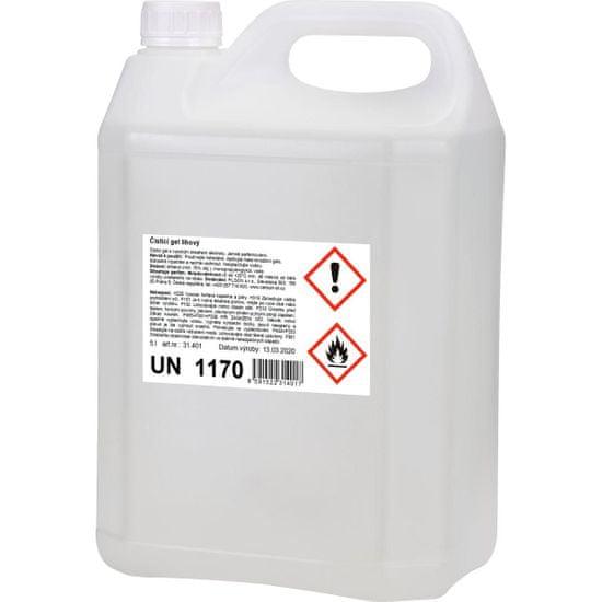 SANITIZ Čistící gel lihový 5l s intenzivním účinkem / dezinfekce na ruce - řidší konzistence