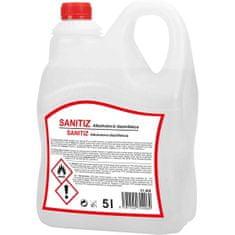 SANITIZ Dezinfekce alkoholová 5l flexi kanystr
