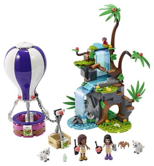 LEGO Friends 41423 Balonem na ratunek tygrysowi