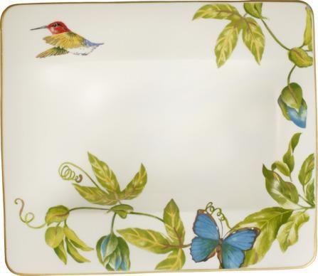 Villeroy & Boch globoki krožnik, 24 cm, metulj