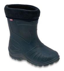 Befado 162P103 fantovski gumijasti škornji, podloženi, temno modri, 31