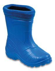 Befado 162P106 fantovski gumijasti škornji, podloženi, modri, 22