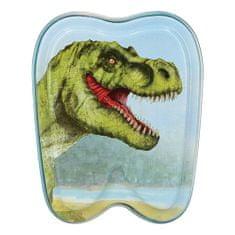 Dino World Blaszane pudełko ASST, T-Rex, niebieski