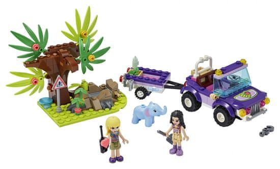 LEGO Friends 41421 Reševanje slončka v džungli