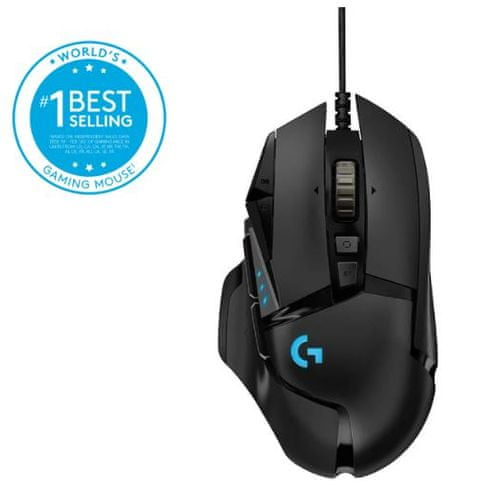Logitech G502 HERO gaming miška | mimovrste=)