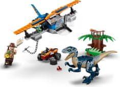 LEGO Jurassic World 75942 Welociraptor: Na ratunek dwupłatowcem