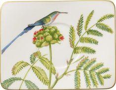 Villeroy & Boch krožnik, 17x14 cm, ptič