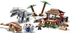 LEGO Jurassic World 75941 Indominus Rex kontra ankylozaur
