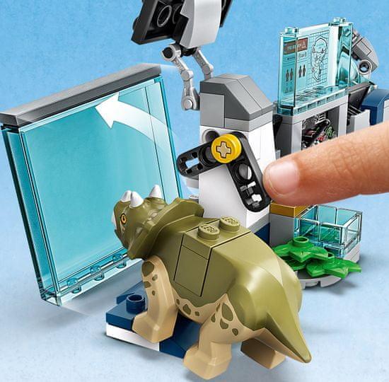 LEGO zestaw Jurassic World 75939 Laboratorium Dr. Wu: Ucieczka młodych dinozaurów