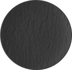 Villeroy & Boch krožnik za kruh in maslo, 16 cm, črn