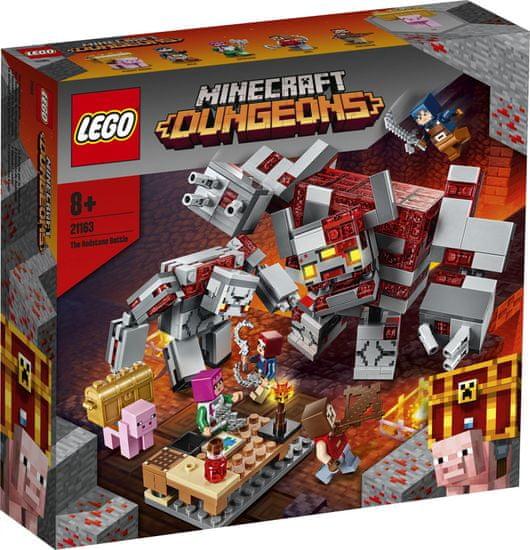 LEGO Minecraft 21163 A vöröskő csata