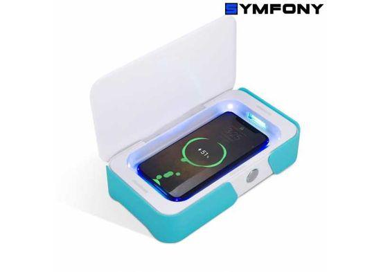 Symfony Ozonový a UV sterilizér mobilní telefon apod., modrý