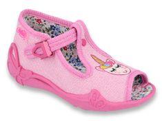 Befado 213P115 Papi dekliški sandali, roza, 21