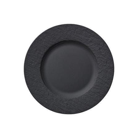 Villeroy & Boch krožnik za solato, 22 cm, črn