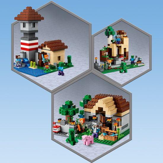 LEGO kreatywny zestaw Minecraft 21161 3.0