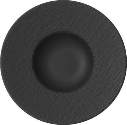 Villeroy & Boch krožnik za testenine, 30 cm, črn