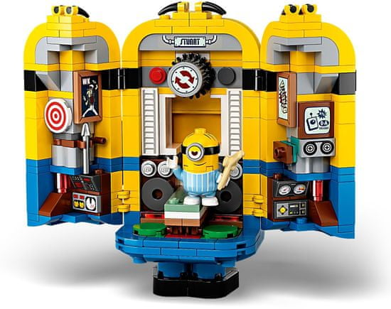 LEGO Minions 75551 Minioni in njihovo skrivališče