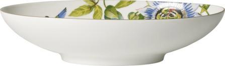 Villeroy & Boch ovalna skleda, 38x22 cm, ptič