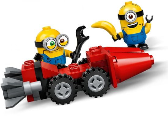LEGO klocki Minionki 75549 Dziki pościg na motocyklu