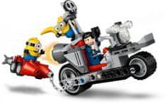 LEGO Minions 75549 Divji lov na motociklu
