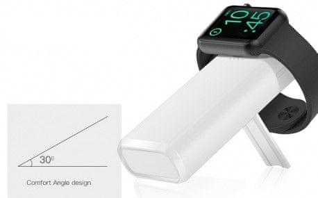 Coteetci COTEetCI bezdrátová nabíjecí powerbanka PB-2 s kapacitou 5200 mAh pro Apple Watch PB5119-BK