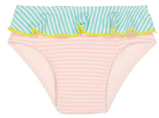 Ki-ET-LA dívčí plavky s UV ochranou 3-4 roky růžová