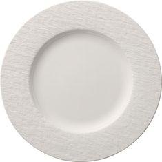 Villeroy & Boch plitvi krožnik, 27 cm, bel