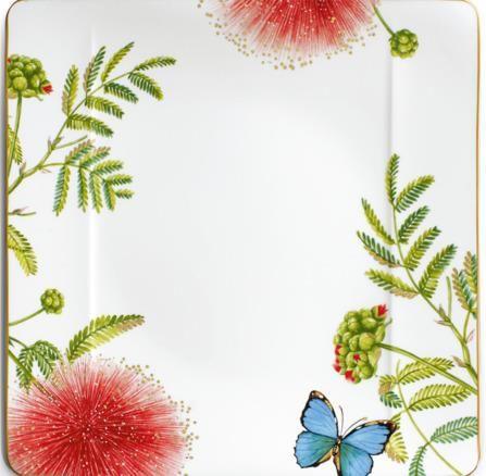 Villeroy & Boch plitvi krožnik, 27 cm, metulj