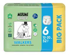 MUUMI BABY Walkers Big Pack vel. 6, 52 ks, 12-20 kg 6 biela