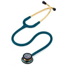 Littmann Classic III Rainbow Edition, stetoskop pre internú medicínu, karibská modrá