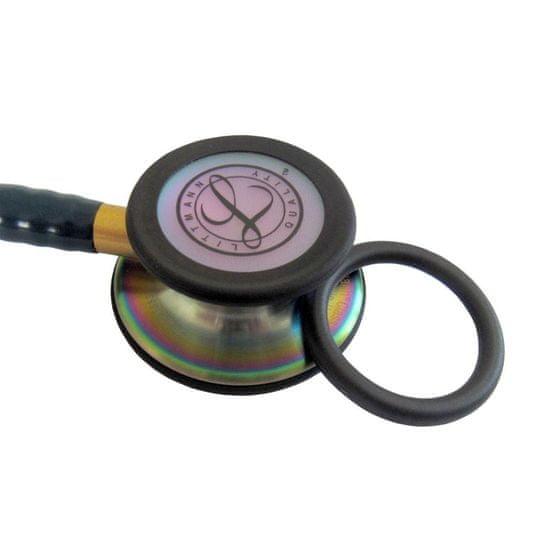Littmann Classic III 5870 Rainbow Edition, stetoskop pre internú medicínu, čierny