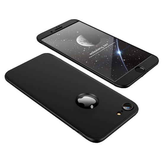 GKK 360 Full Body plastika ovitek za iPhone 7/8, črna