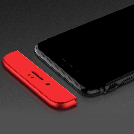 GKK 360 Full Body plastika ovitek za iPhone 7/8, črna/rdeč