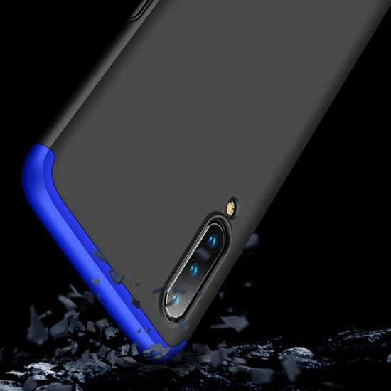 GKK 360 Full Body műanyag tok Xiaomi Mi 9, fekete/kék