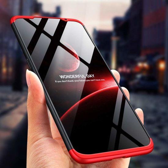 GKK 360 Full Body plastika ovitek za Xiaomi Xiaomi Mi A3, črna/rdeča