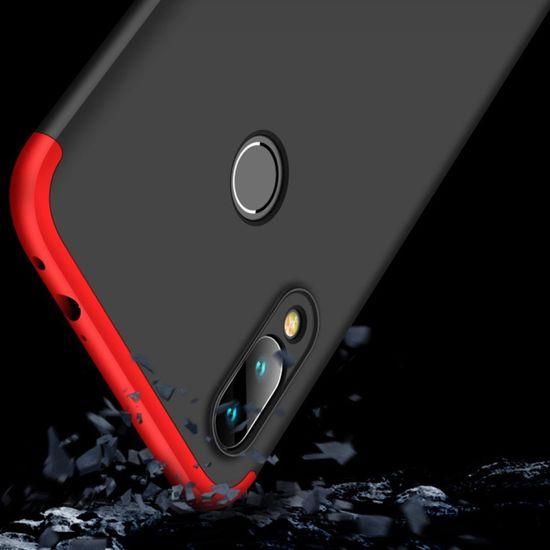 GKK 360 Full Body műanyag tok Xiaomi Redmi 7, fekete/piros