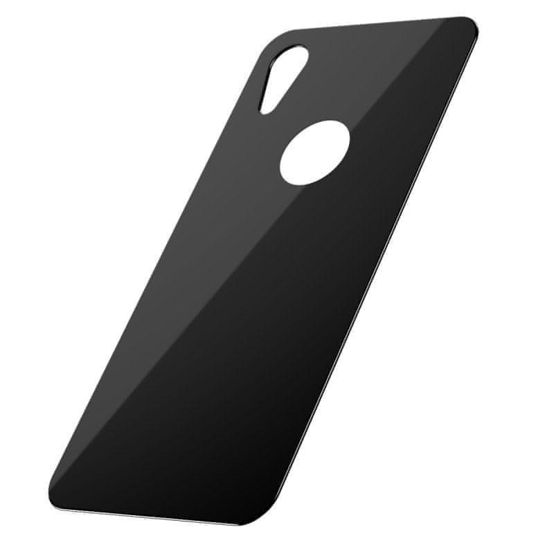 BASEUS tvrzené sklo na zadní stranu telefonu pro iPhone XR černá