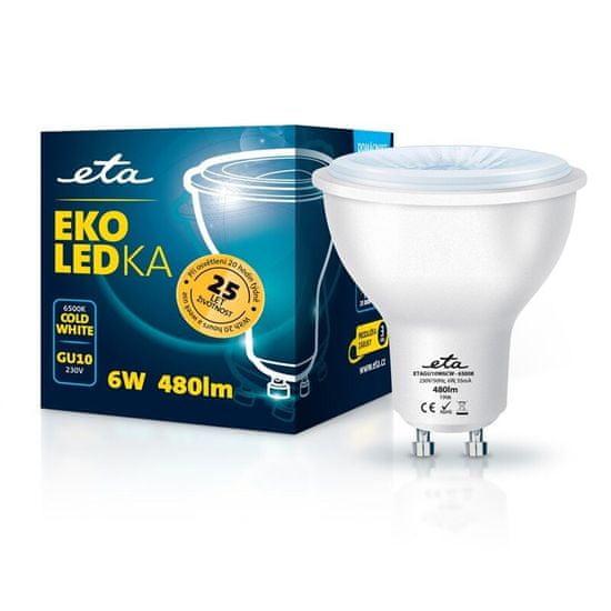 ETA LED žarnica, GU10, 6 W, hladno bela