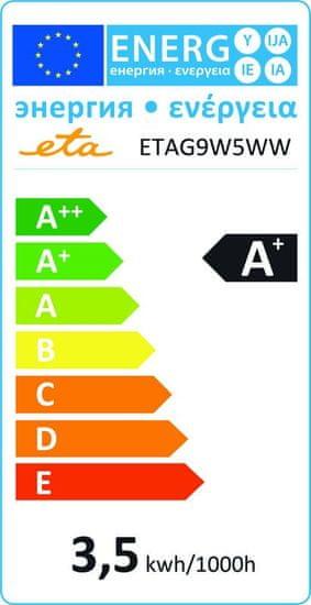 ETA LED žarnica, G9, 3,5 W, toplo bela
