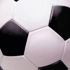 Amscan Ubrousky fotbalový míč 16ks 33x33cm
