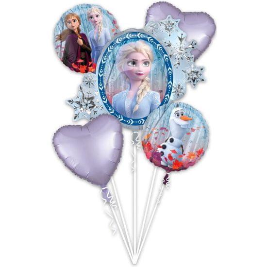 Amscan Fóliové balónky sada 5ks Frozen 2